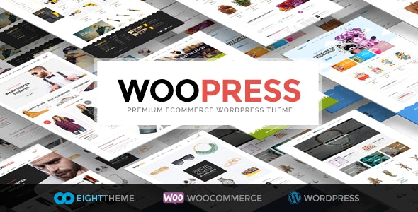 WooPress - Responsive Ecommerce WordPress Theme by 8theme
