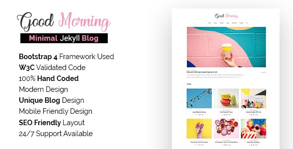 Download Good Morning - Jekyll Blog Template