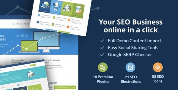 SEOWP | SEO & Digital Agency WordPress Theme - Marketing Corporate
