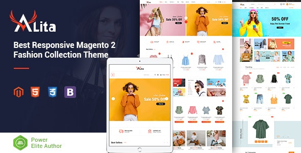 Alita - Responsive Magento 2 Fashion Store Theme - Shopping Magento