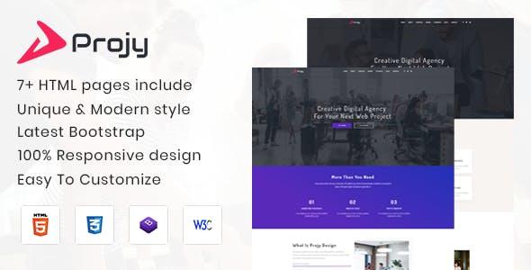 Projy - Multipurpose Responsive Template