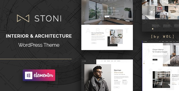 Stoni - Architecture Agency WordPress Theme - Business Corporate