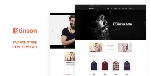 Stinson - Fashion Store HTML Template - Fashion Retail