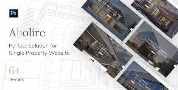 Abolire - Single Property PSD Template - Business Corporate