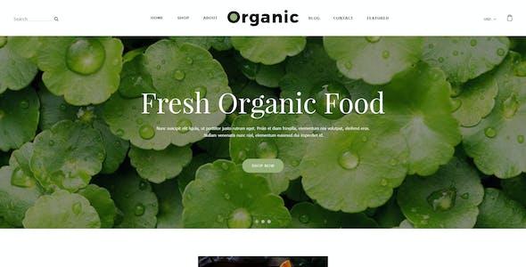 Ovamo - Organic Store PSD Template