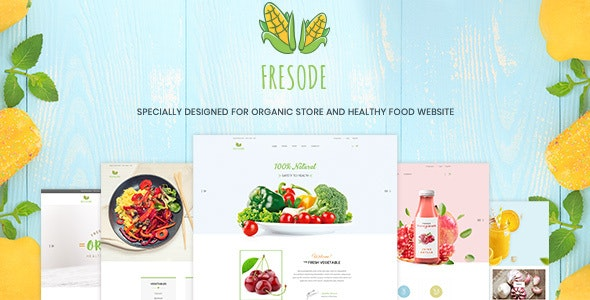 Fresode - Organic Store PSD Template - Miscellaneous Photoshop