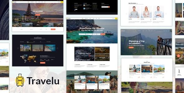 Travelu - Tour Booking HTML Template - Travel Retail