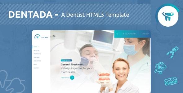 Dentada - A Dentist Responsive HTML5 Template - Health & Beauty Retail