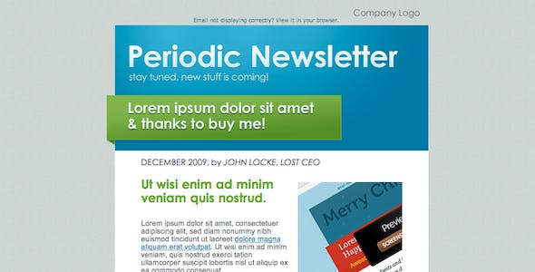 Periodic Newsletter 5 in 1