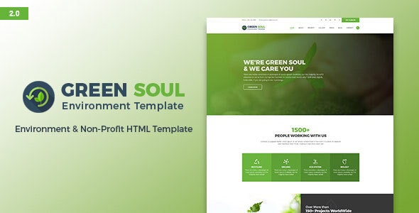 Green Soul - Environment and Nonprofit HTML Template - Environmental Nonprofit