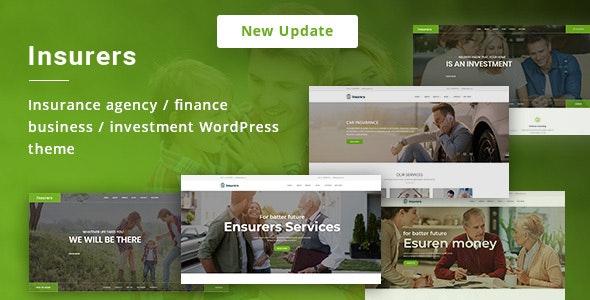 Insurers v3.1.1 – Insurance Agency WordPress Theme