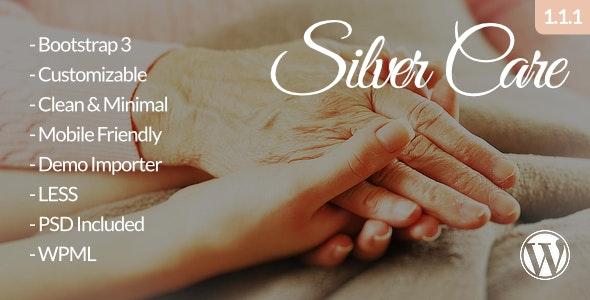 Silver Care - Medical WordPress Theme - Health & Beauty Retail