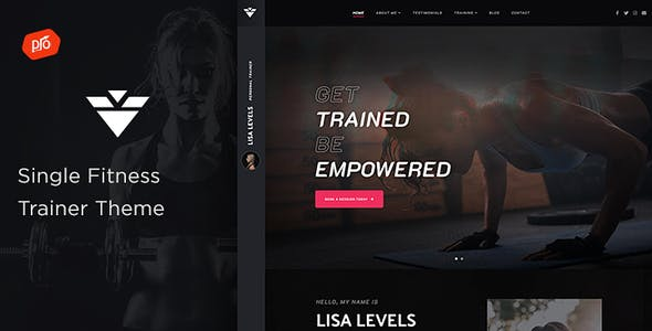 Solestep - Single Fitness Trainer Theme