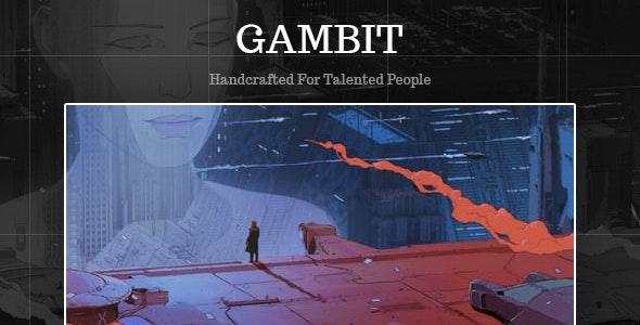 Gambit - Portfolio / Photography HTML Template - Portfolio Creative