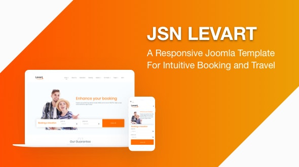 JSN Levart - A Responsive Joomla Template for Booking and Travel - Travel Retail