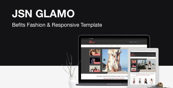 JSN Glamo - Befits Fashion & Responsive Joomla Template