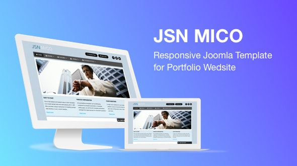 JSN Mico - Responsive Joomla Template for Portfolio Website - Portfolio Creative