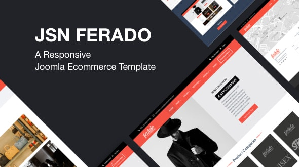 JSN Ferado - A Responsive Joomla Ecommerce Template - Fashion Retail