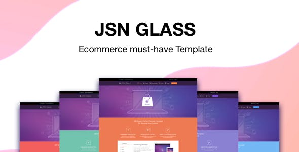 JSN Glass - eCommerce must-have Template for Joomla