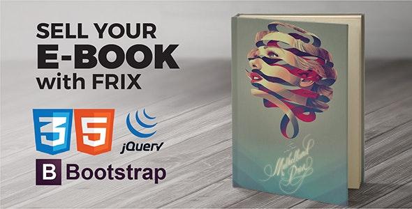 Frix - eBook Parallax - Marketing Corporate