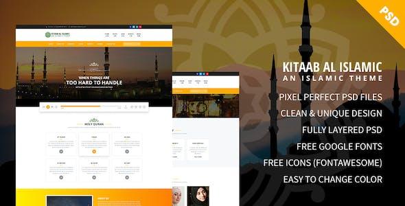 Kitaab Al Islamic - Hidayat Center & Forum PSD Template