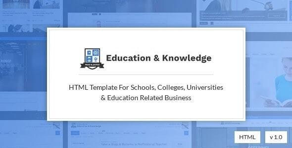 Learno - Education and University HTML Template - Corporate Site Templates