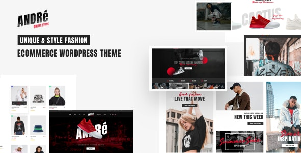Andre - Street Style Sports & Gym WooCommerce Theme - eCommerce WordPress
