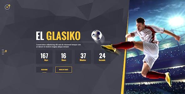 Soccer Acumen - Football Club PSD Template