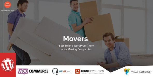 Movers - Moving Company WordPress Theme - Business Corporate
