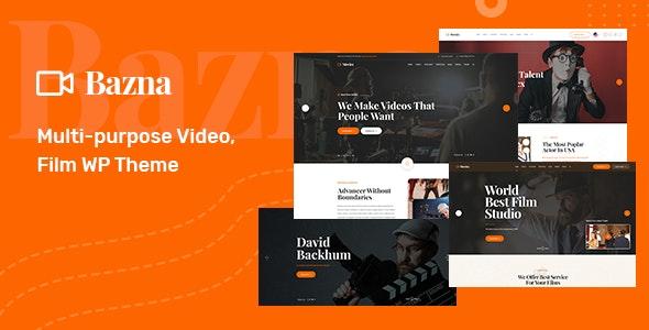 Bazna | Multipurpose Film Studio WordPress Theme - Film & TV Entertainment