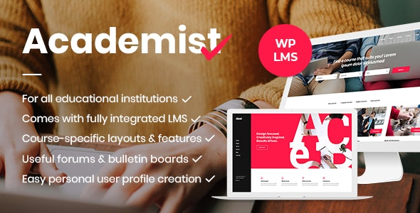 Academist - Education & Learning Management System Theme - Education WordPress