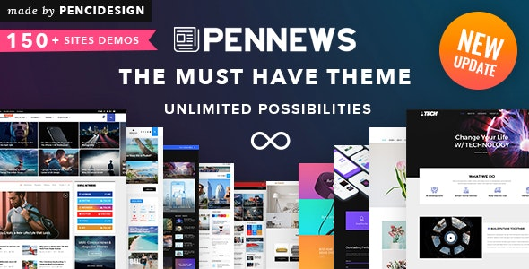 PenNews - News/ Magazine/ Business/ Portfolio/Reviews Landing AMP WordPress Theme - News / Editorial Blog / Magazine