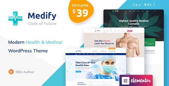 Medify - Health & Clinic WordPress Theme - Health & Beauty Retail