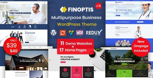 Finoptis - Multipurpose Business WordPress Theme - Business Corporate