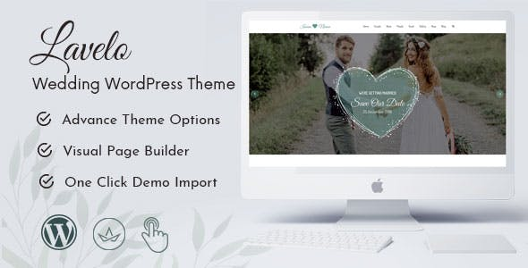 Download Lavelo - Wedding WordPress Theme