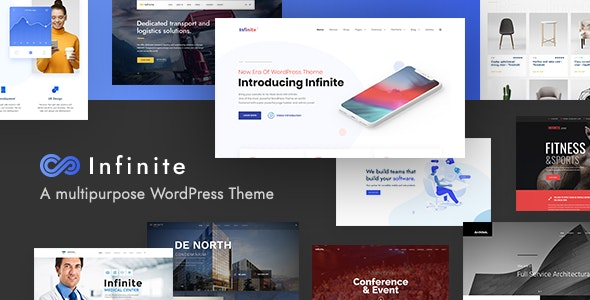 Infinite v3.4.1 – Multipurpose WordPress Theme