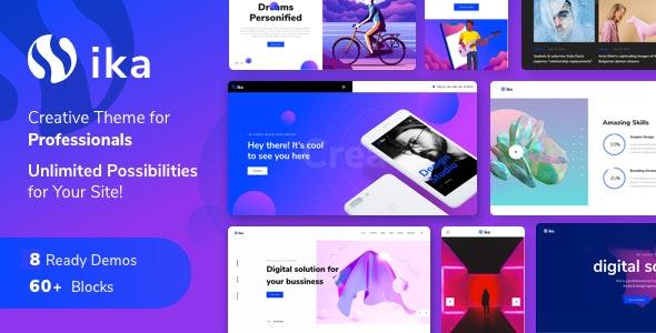 Ika - Portfolio WordPress Theme - Portfolio Creative