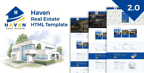 Haven - Real Estate Responsive HTML Template - Business Corporate