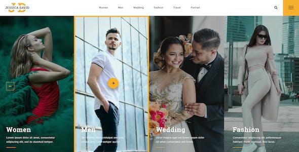 JD - Photography PSD Template