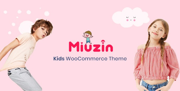 Miuzin - Kids WooCommerce WordPress Theme - WooCommerce eCommerce