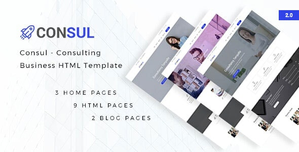 Consul - Consulting Business HTML Template - Business Corporate