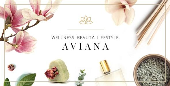 Aviana - Elegant Wellness & Spa Theme - Health & Beauty Retail