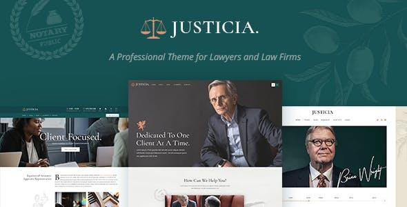 justicia wordpress avukatlık teması