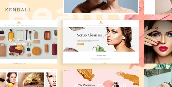 Kendall - Spa, Hair & Beauty Salon Theme - Health & Beauty Retail