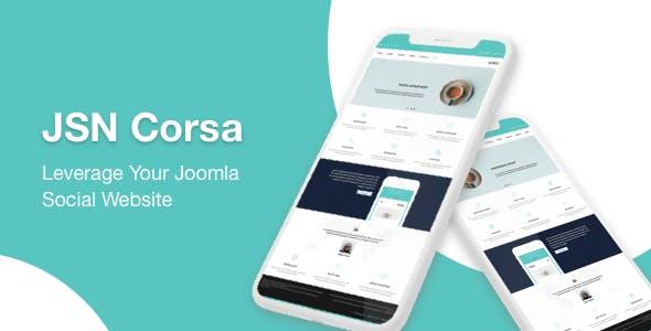 JSN Corsa - Elegant & Responsive Joomla Template