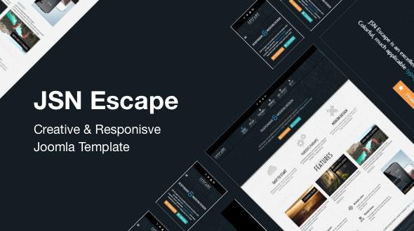 JSN Escape – Creative & Responsive Joomla Template - Joomla CMS Themes