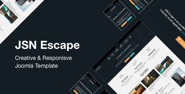 JSN Escape – Creative & Responsive Joomla Template