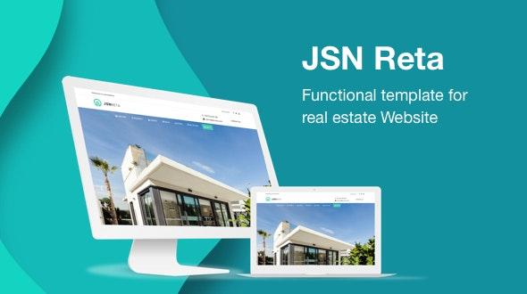JSN Reta - Responsive Joomla Template for Building Real Estate Website - Business Corporate