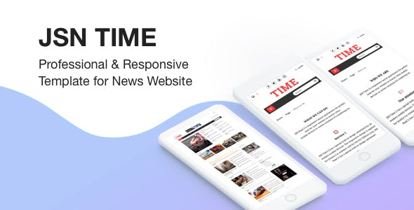 JSN Time - Professional & Responsive Joomla Template for News Website