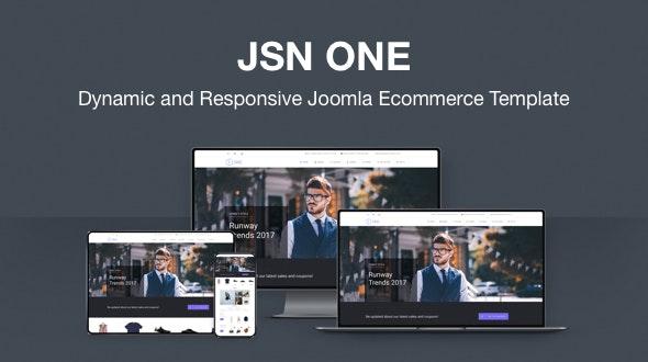 JSN One-Responsive Joomla E-commerce Template - Fashion Retail